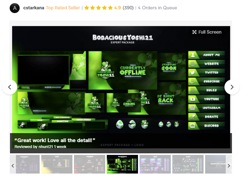 best custom twitch overlay designer