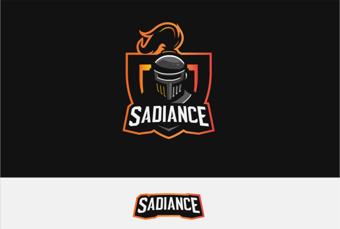 create logo for twitch, youtube, gaming, mascot, esports