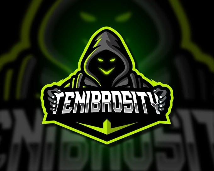 design badass mascot logo for twitch and esport